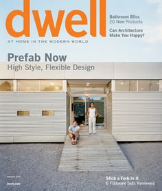 LV on the cover of Dwell
