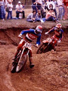 Honda Dirt Bike, Honda Motorcycles, Dirt Bikes, Vintage Motorcycles, Marty Smith, Motocross Riders, Motorcycle Racers, Japanese Motorcycle, Vintage Motocross
