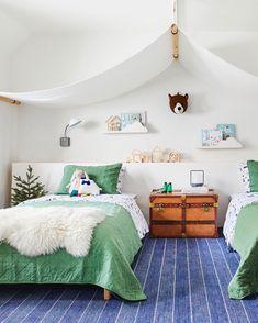 Tent Bedroom, Airy Bedroom, Bedroom Decor, Whimsical Bedroom, Plywood Furniture, Kids Bedroom Furniture, Bedroom Kids, Cool Kids Bedrooms, Plywood Floors