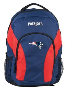 New England Patriots Draft Day Navy Back Pack