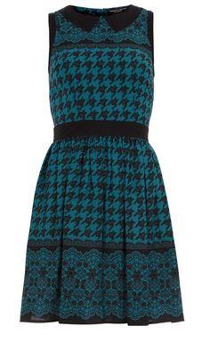 Dorothy Perkins Dogtooth Print Dress, £32