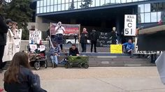 Our Charter's Funeral - Calgary #YYC - If Bill C-51 passes! May 30, 2015