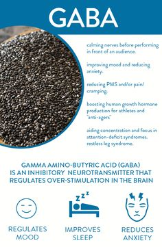 GABA: Calming neurotransmitter that promotes relaxation – Foods And Drink Nutrition Education, Sport Nutrition, Nutrition Sportive, Nutrition Quotes, Health And Nutrition, Health Tips, Health And Wellness, Health And Beauty, Health Fitness