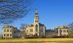 Anderson Hall - The signature building at Kansas State University, Anderson Hall, was erected in three stages between 1877 and 1884.