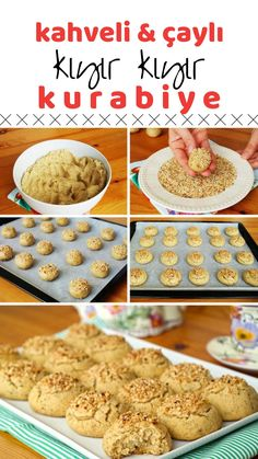 Çaylı Nescafeli Kurabiye (with video) How to make a recipe? Here is the illustrated description of this recipe in the book of people and the photos of the experimenters. Yummy Recipes, Cookie Recipes, Dessert Recipes, Yummy Food, Desserts, Whoppie Pies, Cookie Videos, Joy Of Cooking, Turkish Recipes