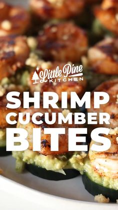 *NEW* My shrimp cucumber bites are the tasty keto snack you've been waiting for. They make perfect afternoon snacks, or will shine as appetizers of choice for your next party! #lowcarbshrimpcucumberbites #ketoshrimpcucumberbites #lowcarbappetizers #ketoappetizers #lowcarbappetizer #ketoappetizer #lowcarbfish #ketofish #lowcarbdinner #ketodinner #fish Sugar Free Recipes, Low Carb Recipes, Whole Food Recipes, Cooking Recipes, Low Carb Appetizers, Easy Appetizer Recipes, Shrimp Recipes, Cucumber Bites, Dairy Free Diet