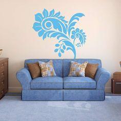 Szablon malarski - Kwiat | Paint template - Flower | 31,49 PLN #paint #template #flower #home_decor #interior_decor #design #wall_decor #szablon #szablon_malarski #kwiat #kwiatek #dekoracja_ściany #dekoracja_wnętrza