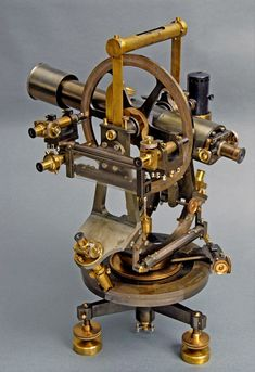 19th Century Theodolite - Rendez vos souvenirs durables avec www.remix-numerisation.fr