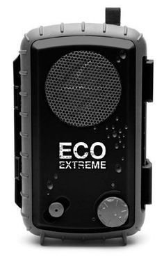 ECOXGEAR Speaker Eco Extreme Waterproof Speaker Portable Speakers Black Aux New…