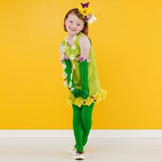 Homemade Halloween Costumes for the Perfect Pair of Kids: Spring Costume (via Parents.com)