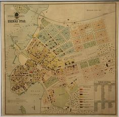 Heerman, Julius: Special karta öfver Ekenäs stad 1898. ( Tammisaari ) - Kaupunkikartat Helsinki, Vintage World Maps, Architecture, Arquitetura, Architecture Design