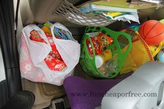 Ideas for keeping kids happy in the car during road trips