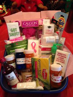 Nurse graduation gift basket everything a new nurse will need diy nursing graduate survival kit made this for my niece such fun putting solutioingenieria Choice Image