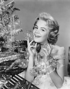 But in this season it is well to reassert that the hope of mankind rests in faith. As a man thinketh, so he is. Nothing much happens unless you believe in it, and believing there is hope for the world is a way to move toward it. --Gladys Taber  ...Sandra Dee