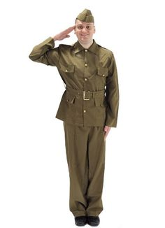 Mens WW2 1940s 40s Home Guard Private Fancy Dress Costume Dads Army by Smiffys