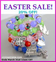 20% Off all Handmade Inspirational jewelry! https://www.etsy.com/shop/cicinspireme #etsy #jewelry #fashion