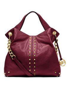 934974d93e25 MICHAEL Michael Kors Large Uptown Fashion Handbags, Mk Handbags, Fashion  Bags, Purple Handbags