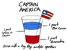 Fourth of July drink?