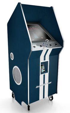 Arcade cabinet.