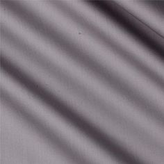 "118"" Fabri-Quilt Cotton Sateen  Light Grey from @fabricdotcom  From Fabri-Quilt, this luxurious sateen fabric is extra wide and has a 320 thread count. Perfect for quilt backings, sheeting and drapery linings."