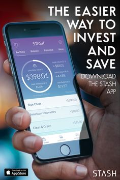 Start investing today with Stash—the app that empowers you to become an investor with as little as $5. Build an investment portfolio that reflects who you are by investing in things you like, love and believe in. Download the app today and get started.