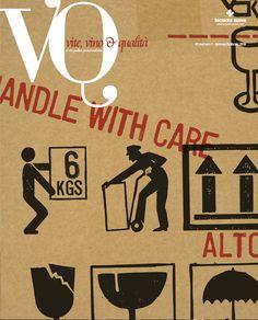 La prima storica copertina di VQ dopo il passaggio all'attuale editore (Tecniche Nuove Milano). Illustrazione di Omar Patti.