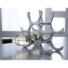 6 Bottle Tabletop Wine Rack by Kindwer