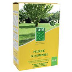 Pelouse éco durable 1kg pour 50 m2. Pelouse éco durable. Avoir une pelouse verte toute l'année c'est possible en implantant ce mélange complet.