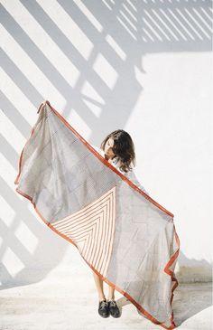 / Image Credit: Block Shop Fabric Photography, Fashion Photography, Creative Photography, Wow Art, Mode Vintage, Silk Painting, Encaustic Painting, Textile Prints, Lino Prints