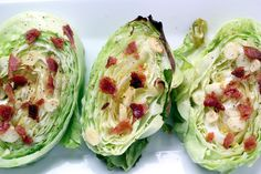Want to make cabbage taste awesome? Try this Bacon and Garlic Cabbage recipe!
