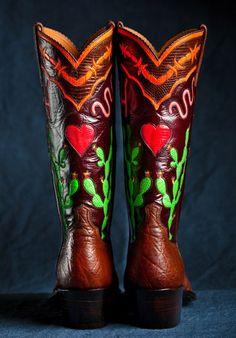 Maida's Custome Designed Boots