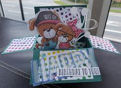 Making Cards magazine pop up – Inky fingered Cat Pop Up Box Cards, Making Cards, Stamp Sets, Free Paper, Card Stock, Magazine, Play, Cardmaking, Ink Pads
