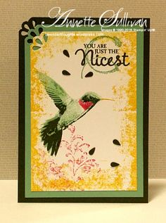 Lavender Thoughts | Annette Sullivan | Stampin' Up! Picture Perfect Crushed Meadow