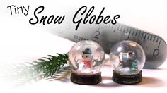 Hey Guys! Today's polymer clay tutorial is another Christmas themed video - Miniature snow globes :) If you search for 'glass sphere' on ebay there should be...