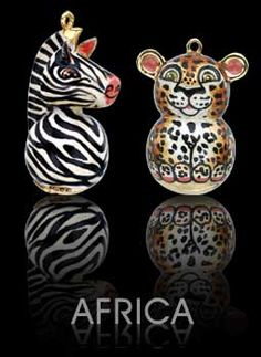 AFRICA by JOKINORO Jokinoro is a collection of limited edition pendants in gold an enamel. http://www.jokinoro.it