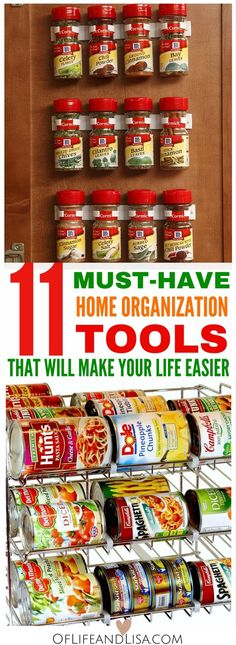 Your life will be so much easier with these awesome home organization tools.