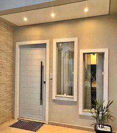 Home Design Decor, Home Room Design, Dream Home Design, Home Design Plans, Minimal House Design, Modern Small House Design, House Front Design, Minimal Home, Small House Layout