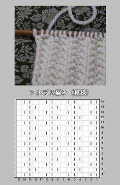 Knitting Charts, Baby Knitting Patterns, Loom Knitting, Knitting Socks, Knitting Designs, Knitting Projects, Stitch Patterns, Crochet Patterns, Crochet Stitches