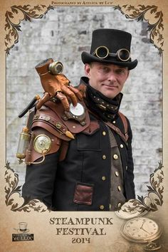 steampunkclothingace:  Very creative costume. - Follow...