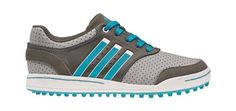 This shoes are designed for a little player who wants to look and act like a pro on the course. Adidas Junior golf shoes and built for comfort for all players Kids Golf Shoes, Shoes 2014, Mens Golf, Adidas Sneakers, Footwear, Watches, Denim, Classic, Blue
