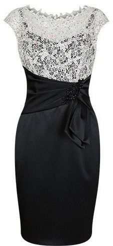 black mother of the bride dresses, short sheath mother of the bride gowns, 2017 cheap mother of the bride dresses, dresses for mother, white lace mother of the bride gowns