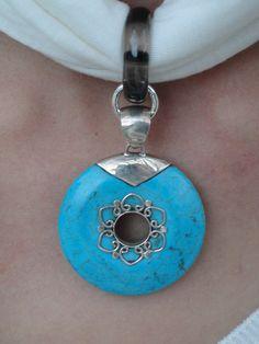 CRYSTALWEAR Hemp Scarf Necklace with Reiki by ShannonBonfanti, $60.00
