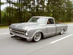 67 c10 running down the road