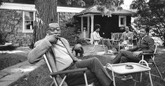 The New York Times ran many photos of the psychologist Kenneth B. Clark, but not as he appears in this image: relaxing at...