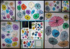 Un ciel de parapluies - Les petits bout 2 fee