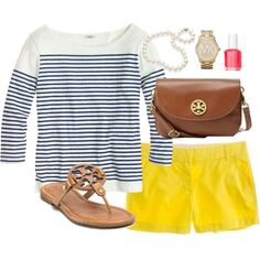 #stripes #yellow #color