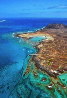 Isla de Lobos.Fuerteventura.