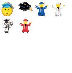 Combo Graduación MiniShape, COD: CGMSH1, UPC Code: , Venta En Linea, Mayoreo Globos, Metálicos/Mylar/Metalizados, Graduacion, México. Teleglobos.com