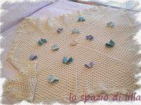 lo spazio di lilla: Schemi gratuiti di copertine ai ferri e all'uncinetto / Free crochet and knit baby blankets patterns