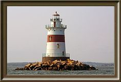 Fisher's Island Sound (This lighthouse is officially in New York waters according to some sources; other sources place it on the border between New York and Connecticut. It is often listed as a Connecticut lighthouse and can be seen from the Connecticut shore.)